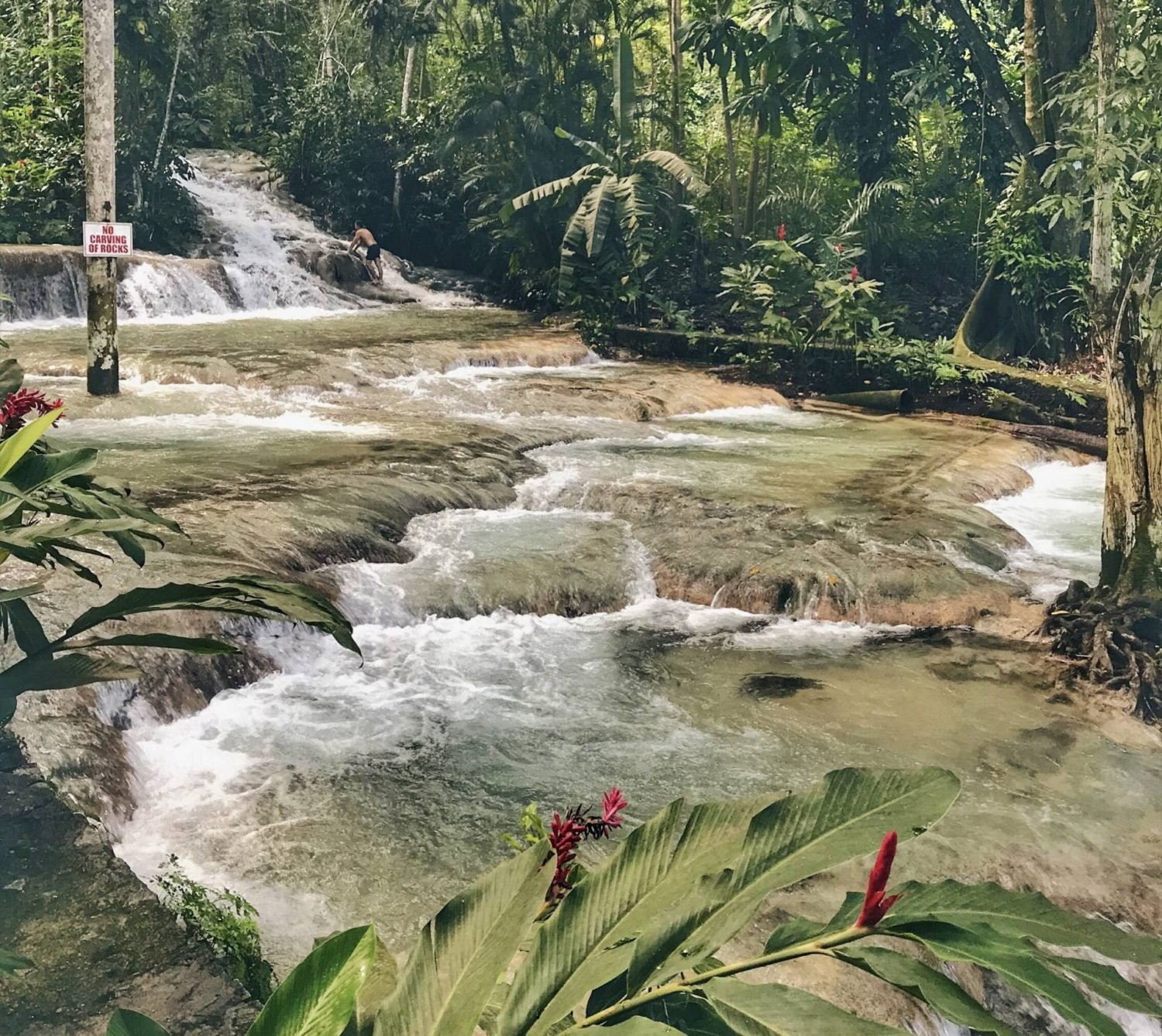 What to do in Jamaica outside resort: Dunn's River Falls