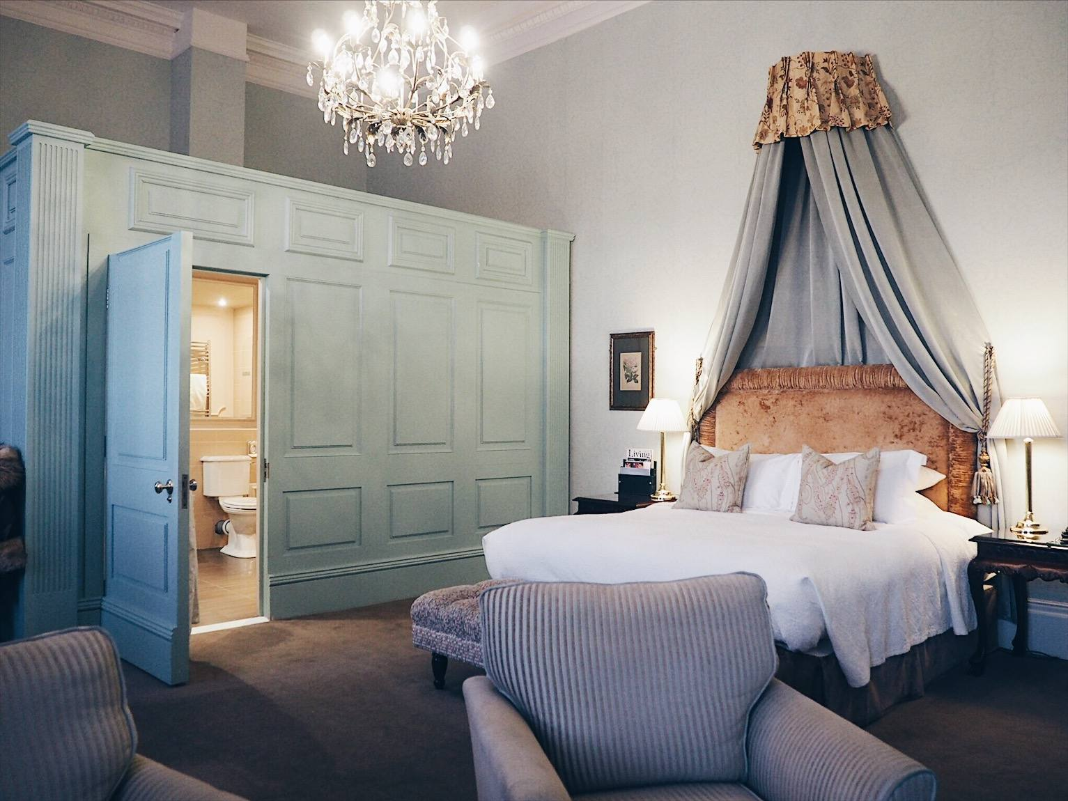 Wynyard hall hotel review: Frances Anne Suite