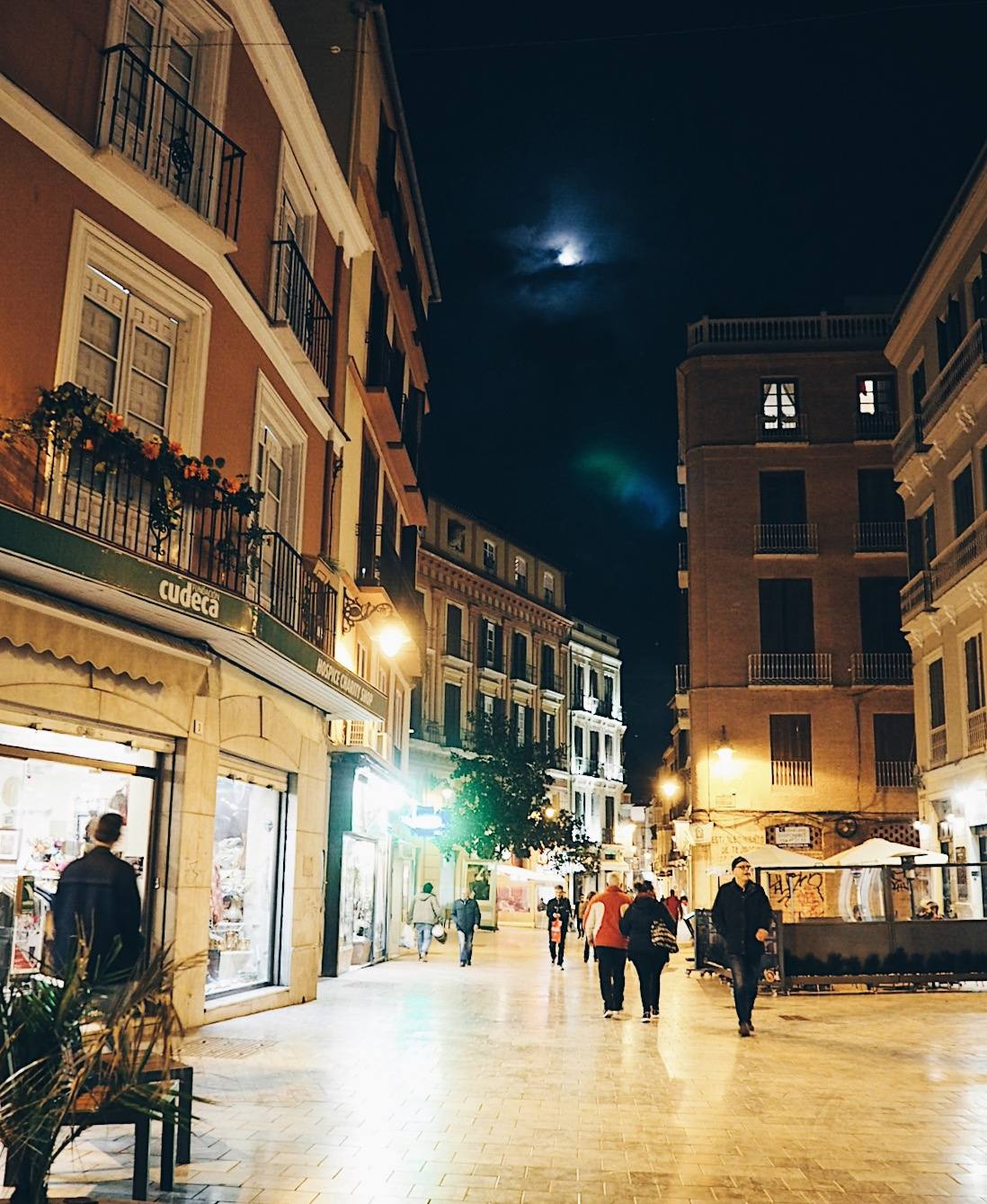 What to do in Malaga at night