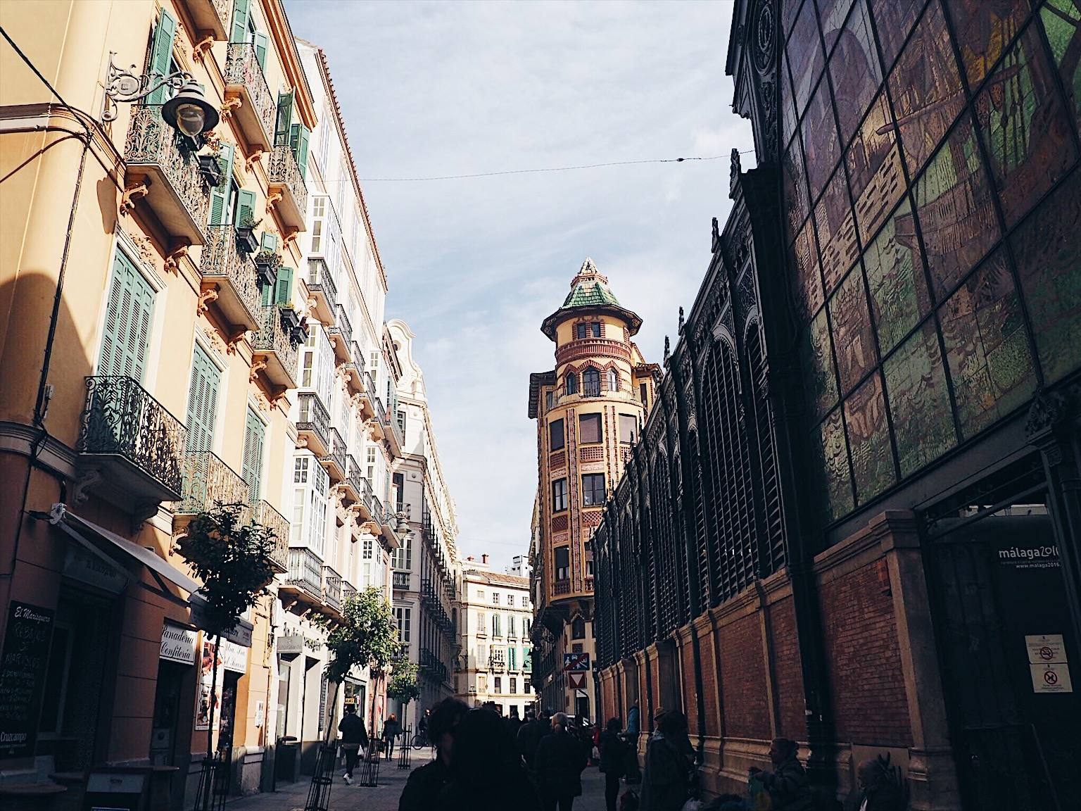 One day guide to Malaga
