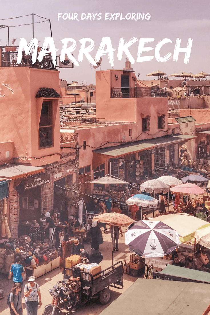 Marrakech in four days: a full itinerary