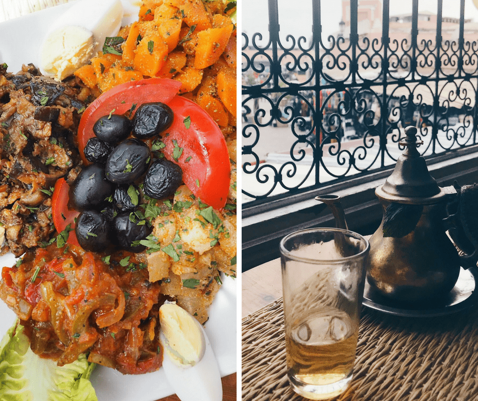Moroccan food to eat in Marrakech