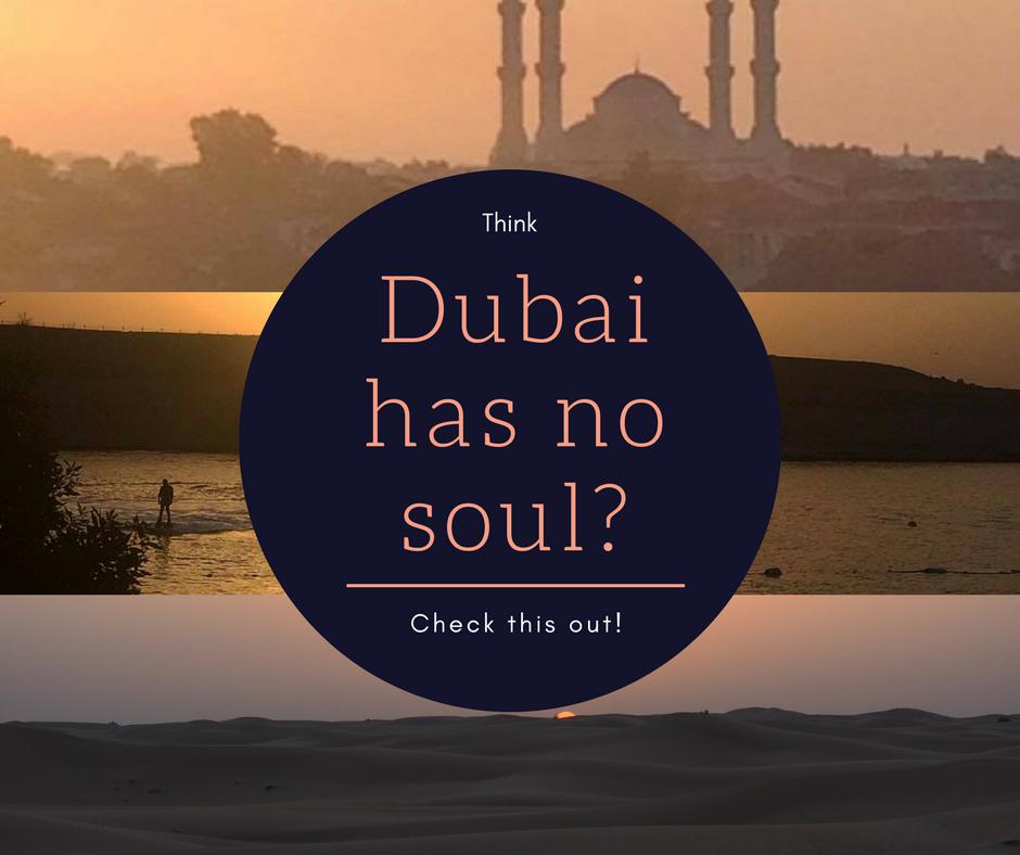 Does Dubai have a soul?