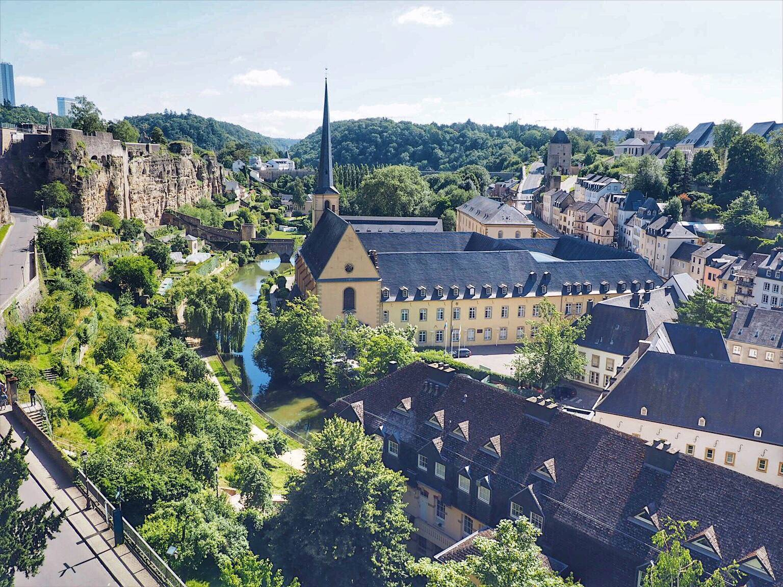 Best views in Luxembourg City