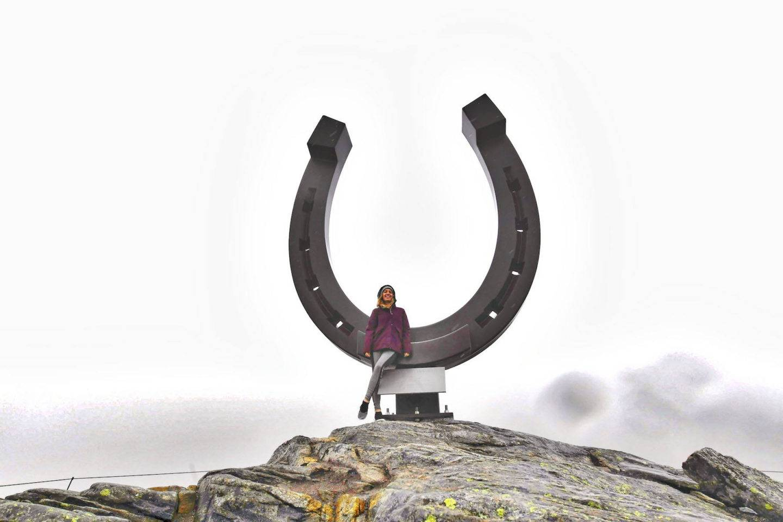 Hiking in Olden, Norway