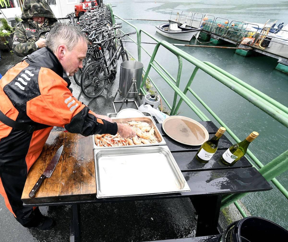 Cray fishing in Olden, Norway