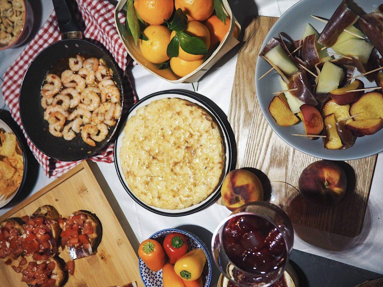 Spanish tapas feast recipe ideas