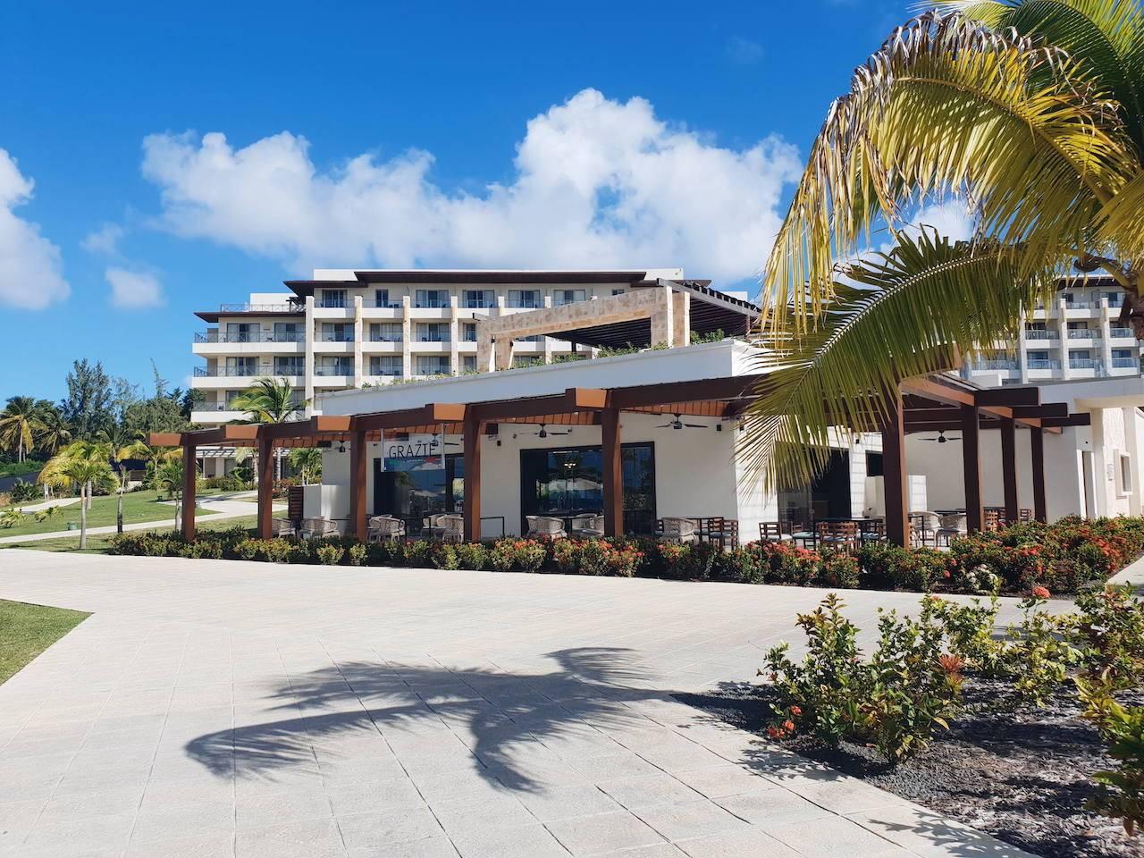 Italian restaurant at Royalton Saint Lucia