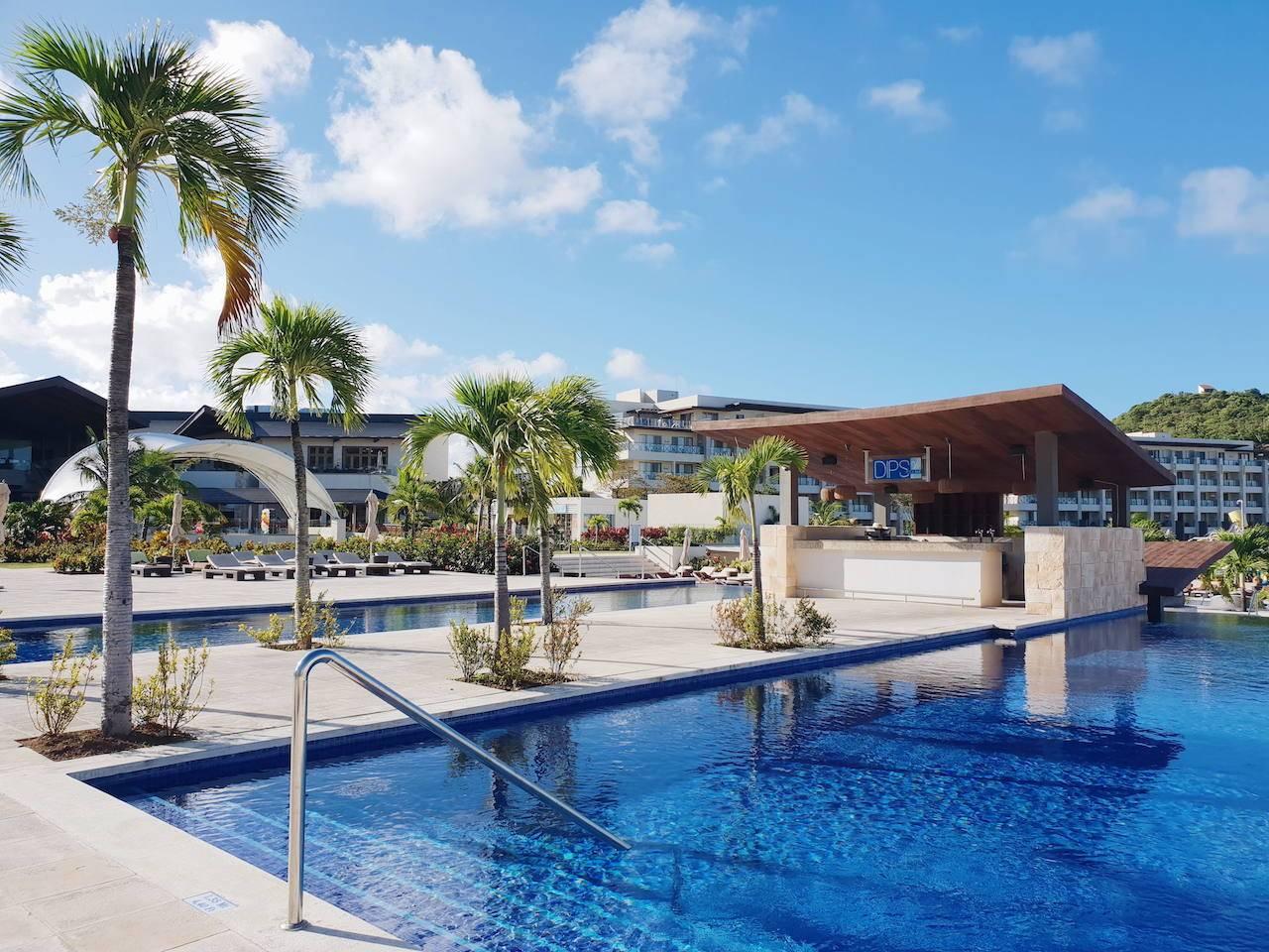 Royalton Saint Lucia hotel review: pools