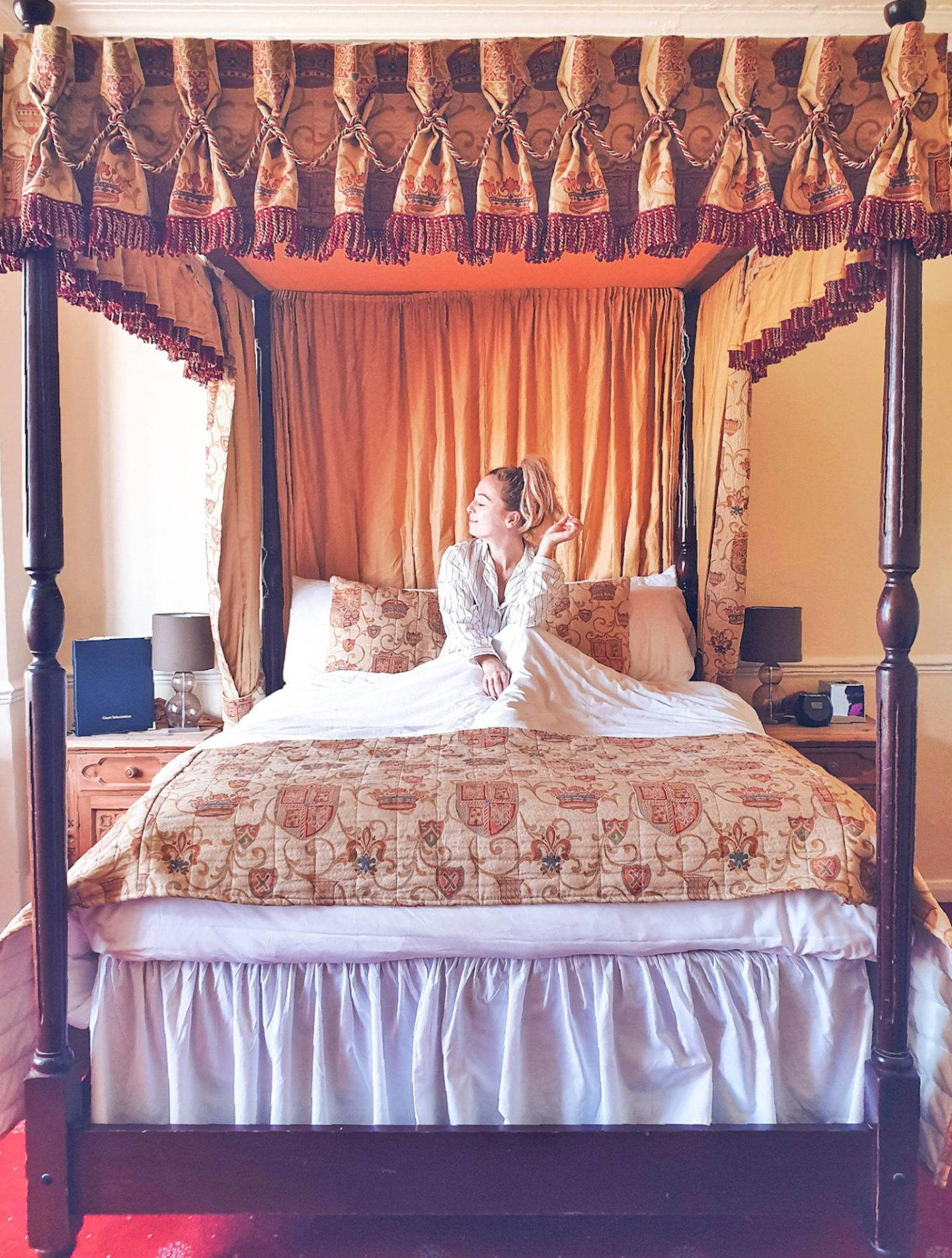 Castle hotel with four poster beds in North East EnglandCastle hotel with four poster beds in North East England