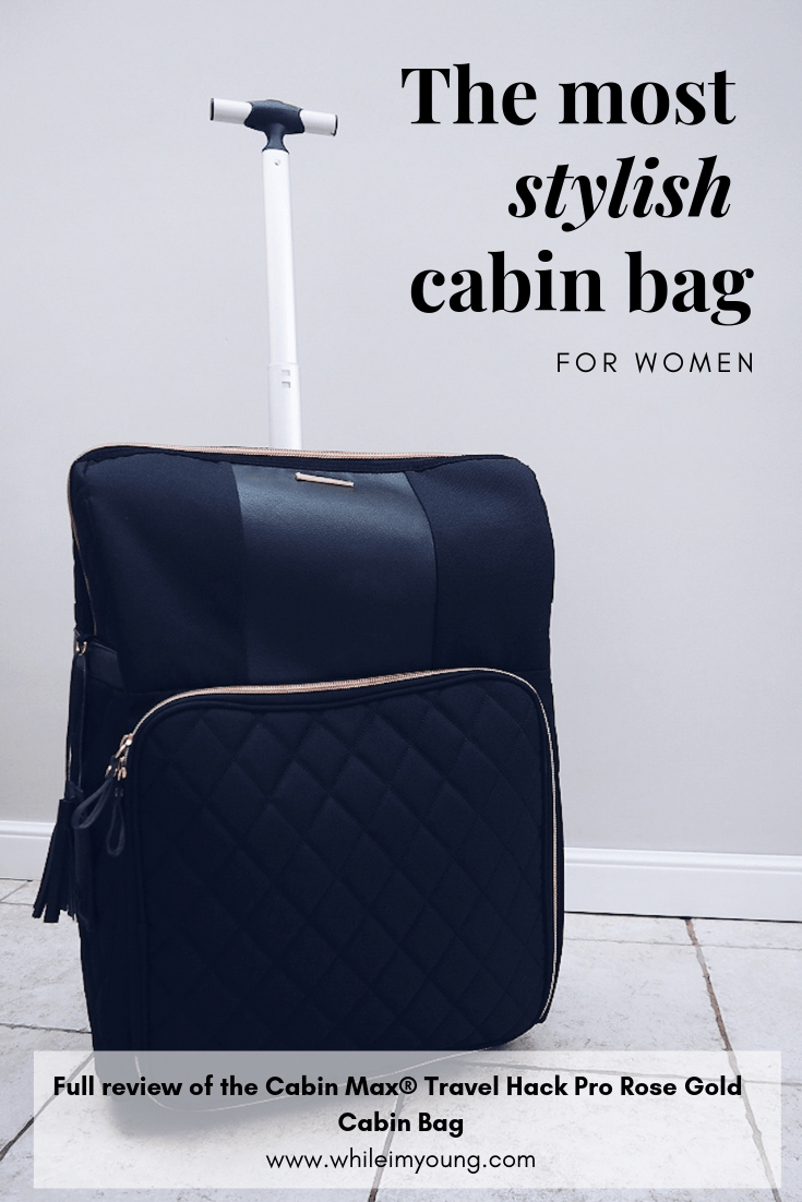 The most stylish cabin bag for women