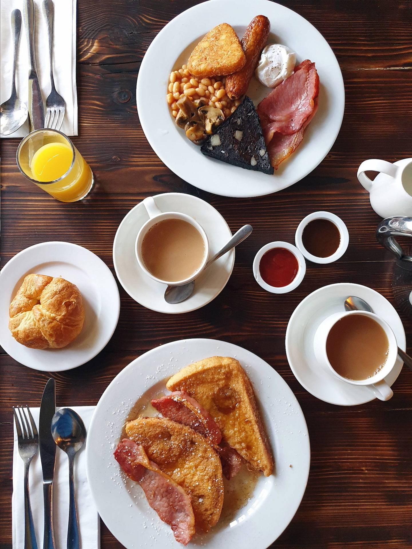 Walworth Castle Hotel breakfast review