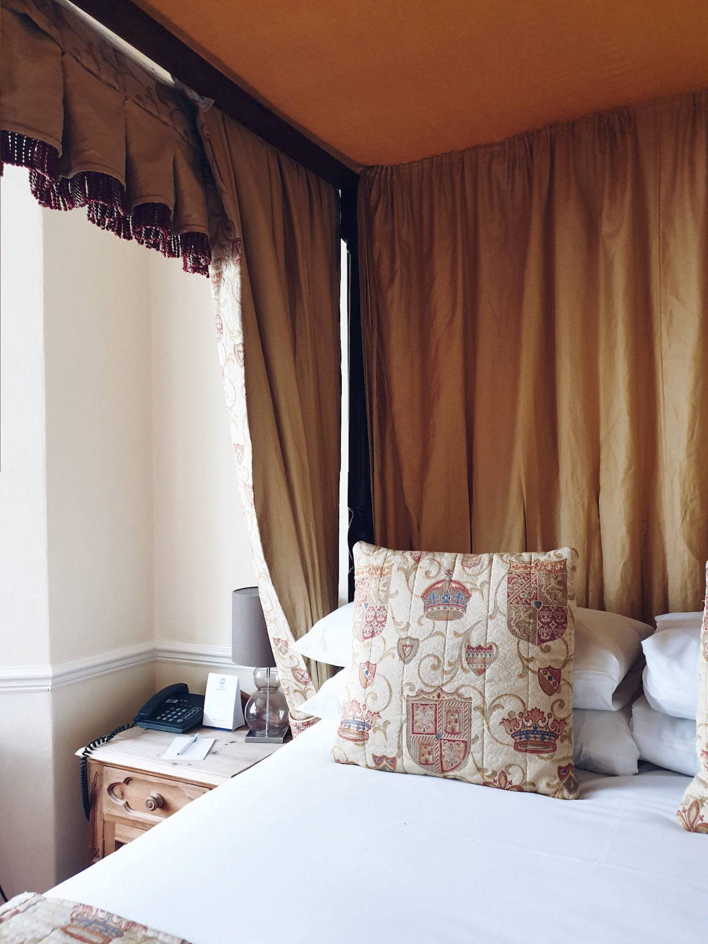 Luxury hotel in North East England: Walworth Castle review