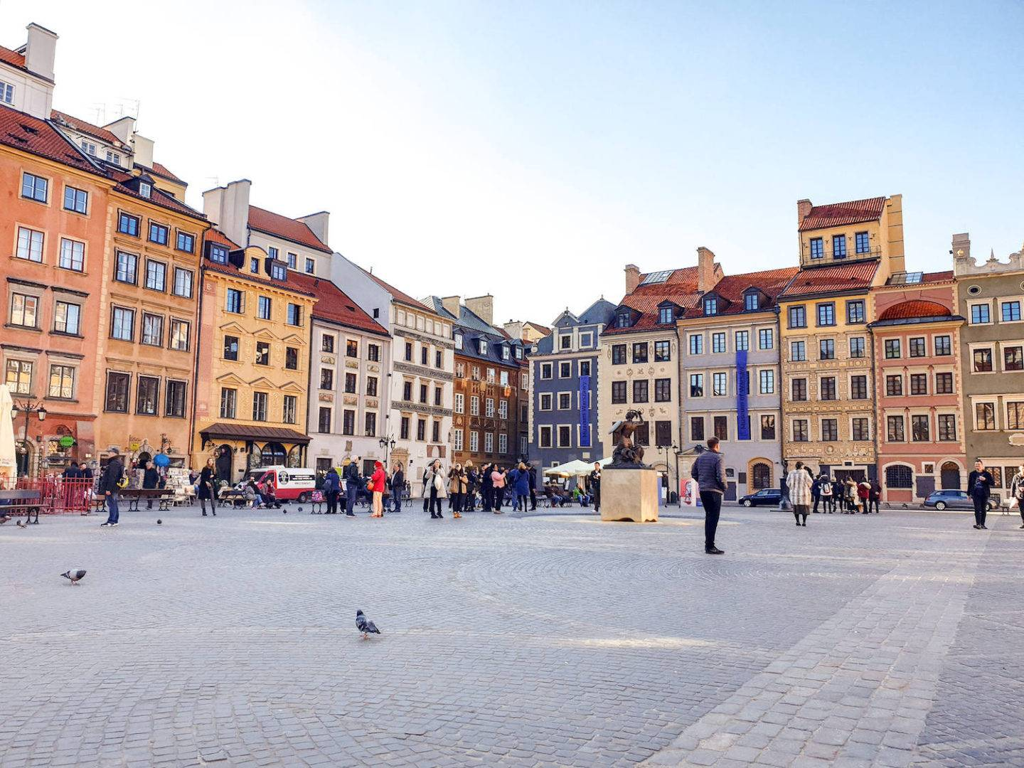 Warsaw in one day: Old Town attractions