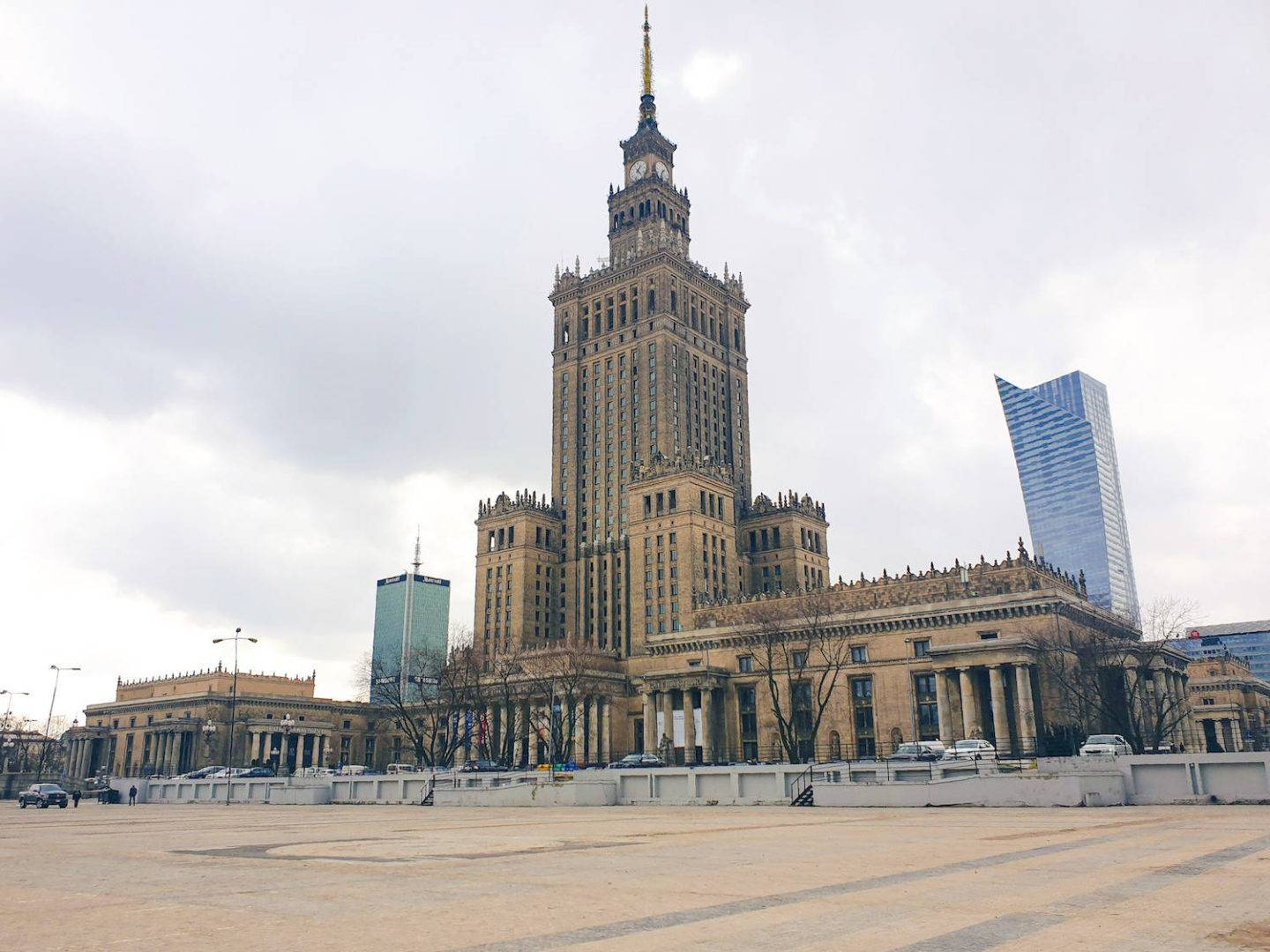 Top Warsaw attractions: Palace of Science and Culture