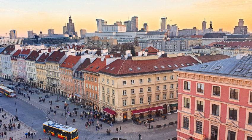 Itinerary for three days in Warsaw