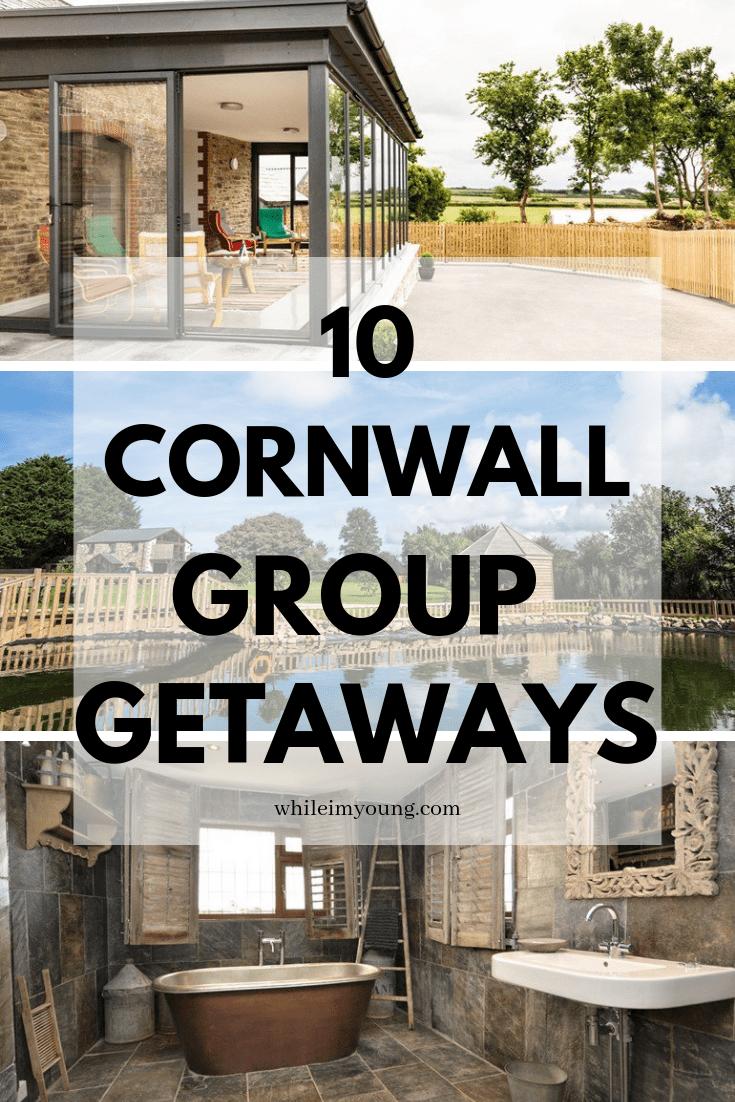 Group getaways in Cornwall