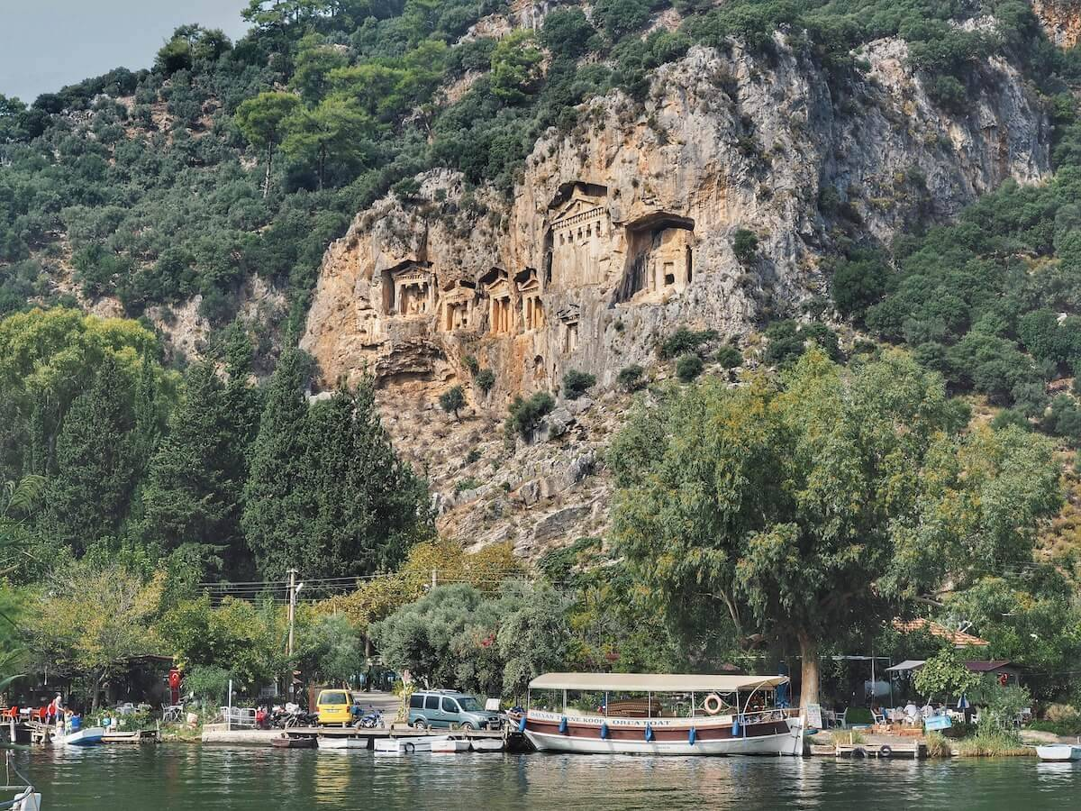 What to see in Dalyan: Lycian Tombs