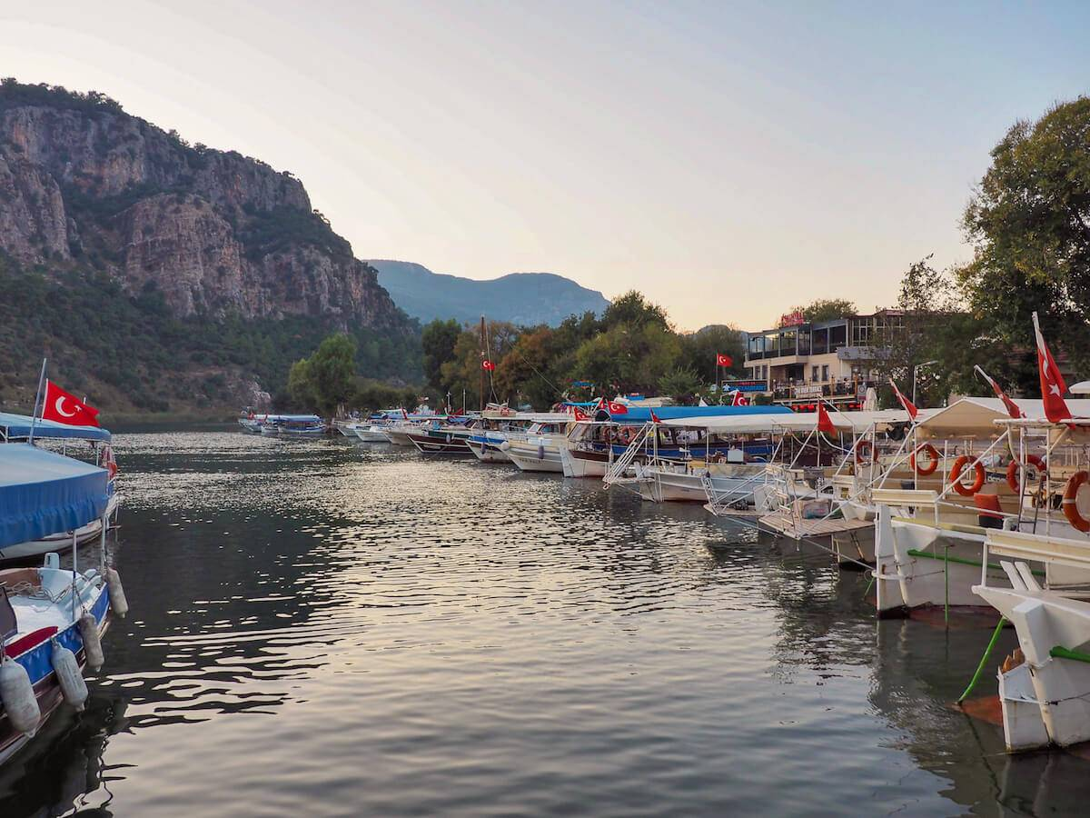 Boat trips from Dalyan